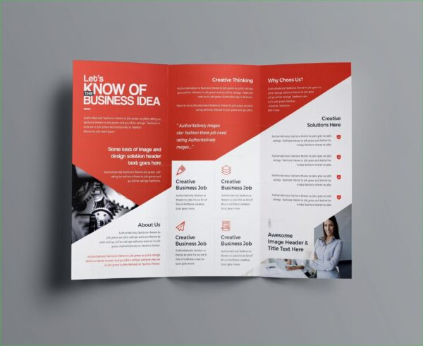 Roll Fold Leaflet   Online Printing