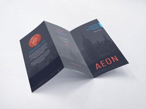 Z Fold Leaflet   Online Printing