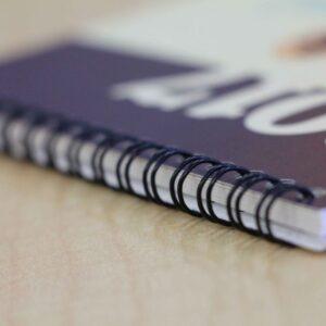 wire bound booklet