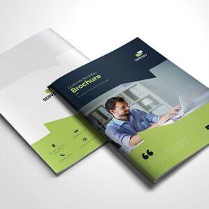 stapled brochure