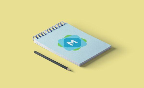 wire bound notepad