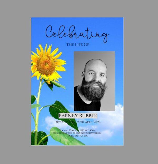 Celebration of Life Booklet