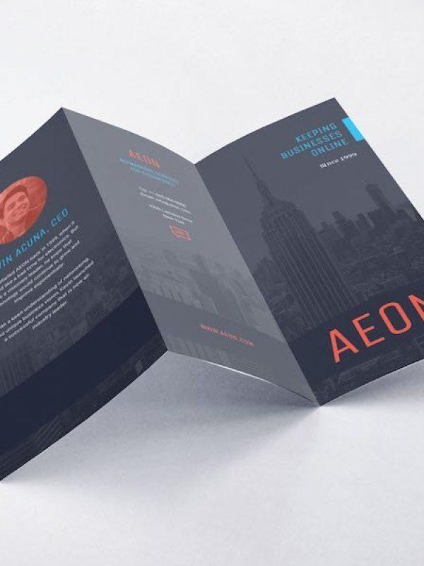Z Fold Leaflet | Online Printing